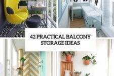 42 practical balcony storage ideas cover