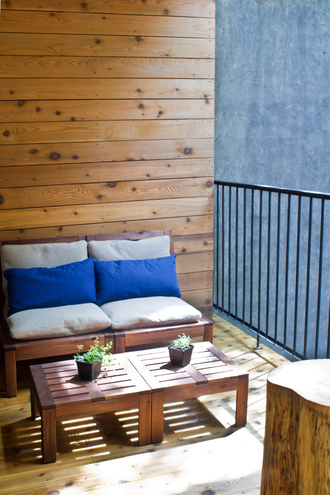 57 Cool Small Balcony Design Ideas - DigsDigs