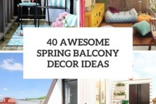 40 awesome spring balcony decor ideas cover