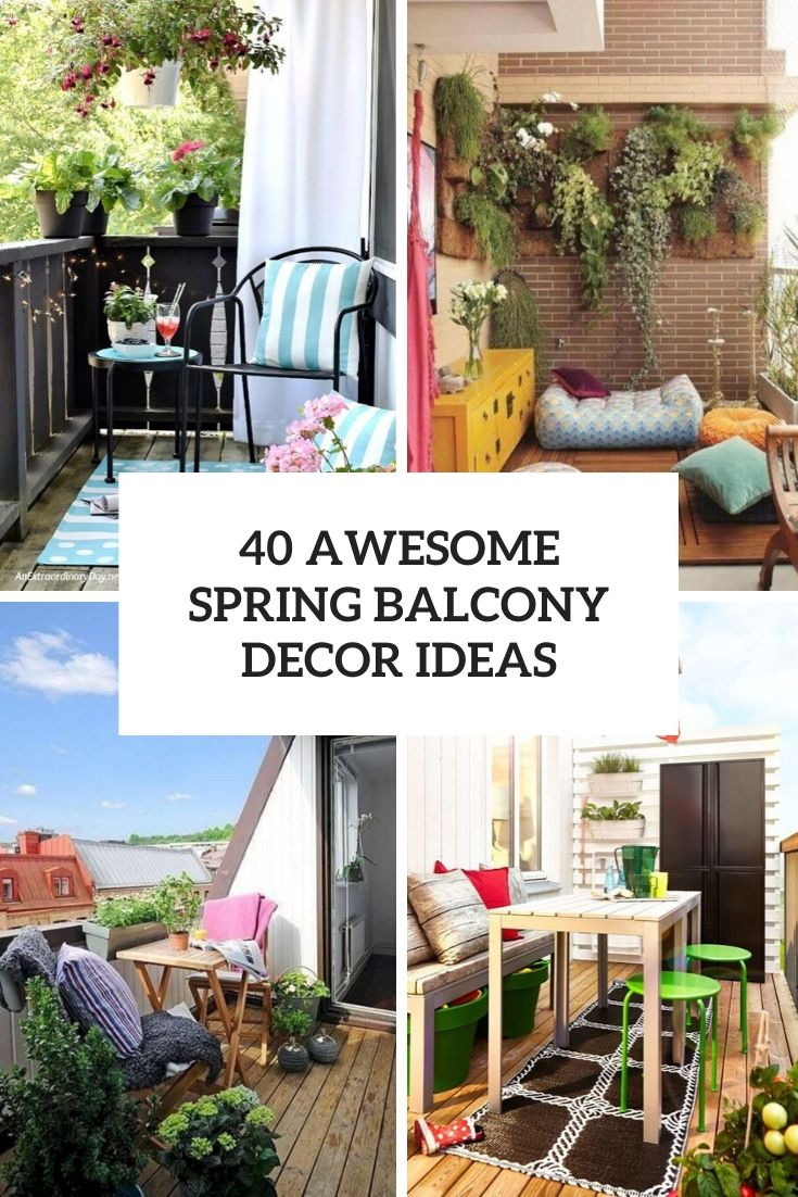awesome spring balcony decor ideas cover
