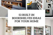 53 built-in bookshelves for your home cover