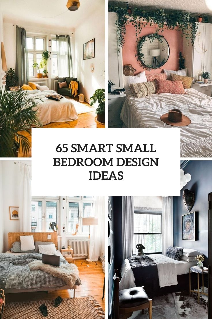 65 Smart Small Bedroom Design Ideas