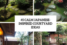 45 calm japanese-inspired courtyard ideas cover