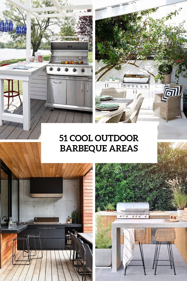 51 Cool Outdoor Barbeque Areas