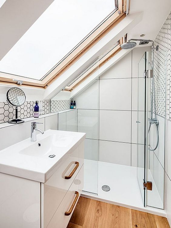 attic bathrooms