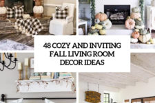 48 cozy and inviting fall living room decor ideas cover