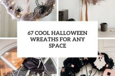 67 cool halloween wreaths for any space cover