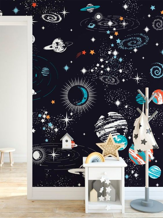a cute kids space design