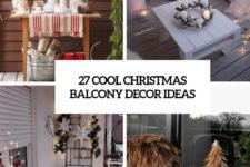 27 cool christmas balcony decor ideas cover