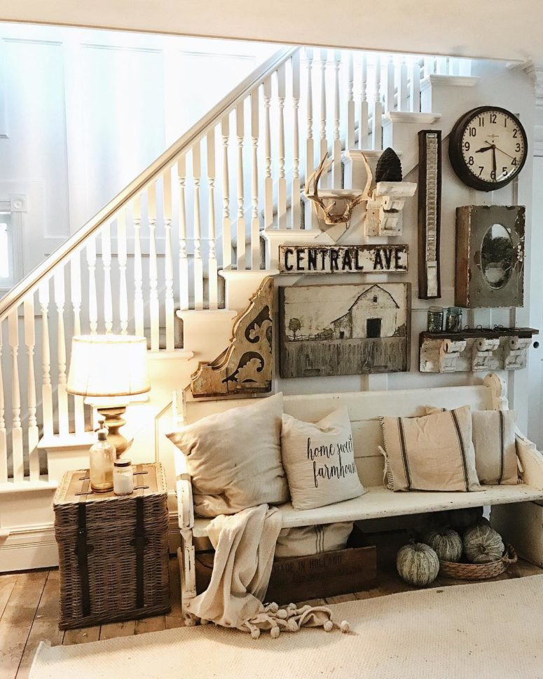 45 Comfy Farmhouse Living Room Designs To Steal