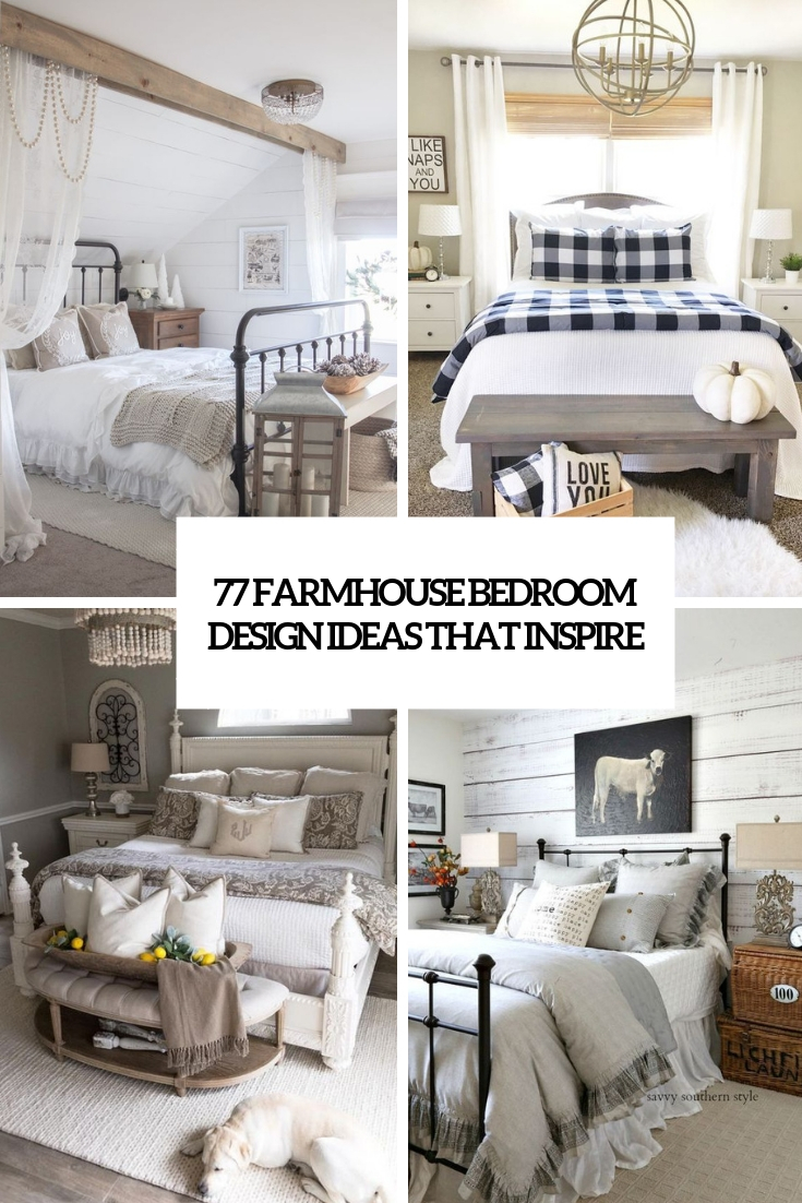 farmhouse bedroom design ideas that inspire cover