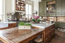 a cozy rustic kitchen design