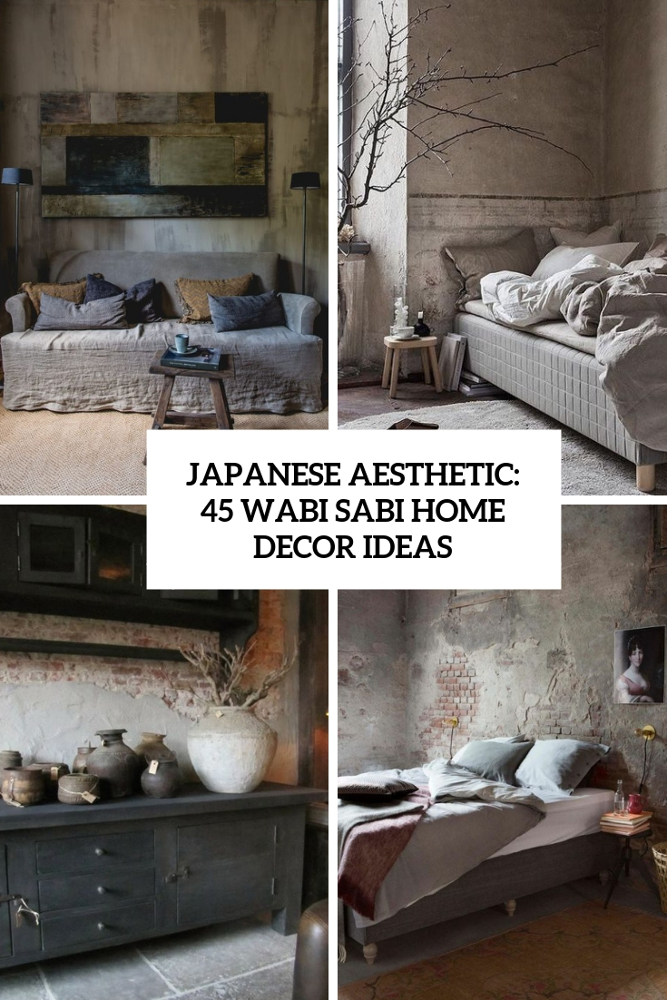 japanese aesthetic 45 wabi sabi home decor ideas cover
