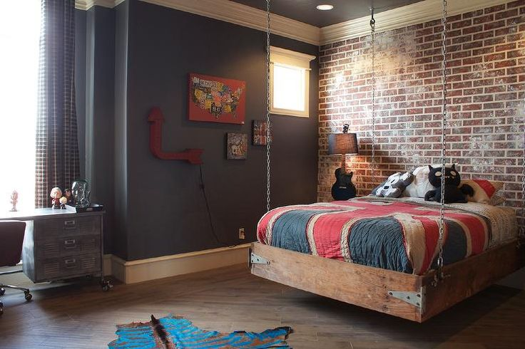 Beau Modern And Stylish Teen Boys Room Designs
