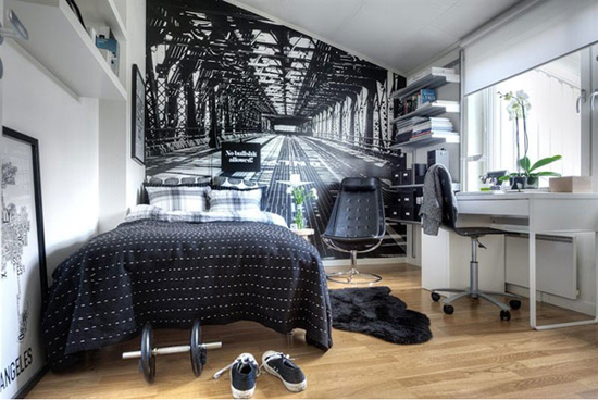 Etonnant Modern And Stylish Teen Boys Room Designs