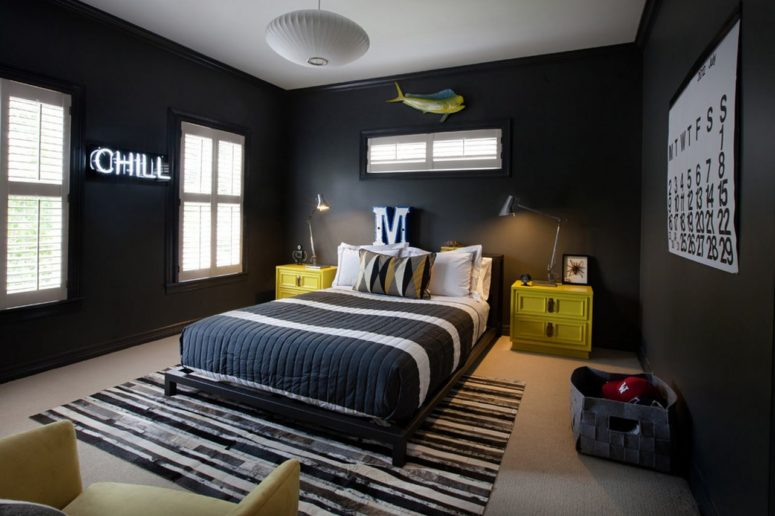 Gentil Modern And Stylish Teen Boys Room Designs
