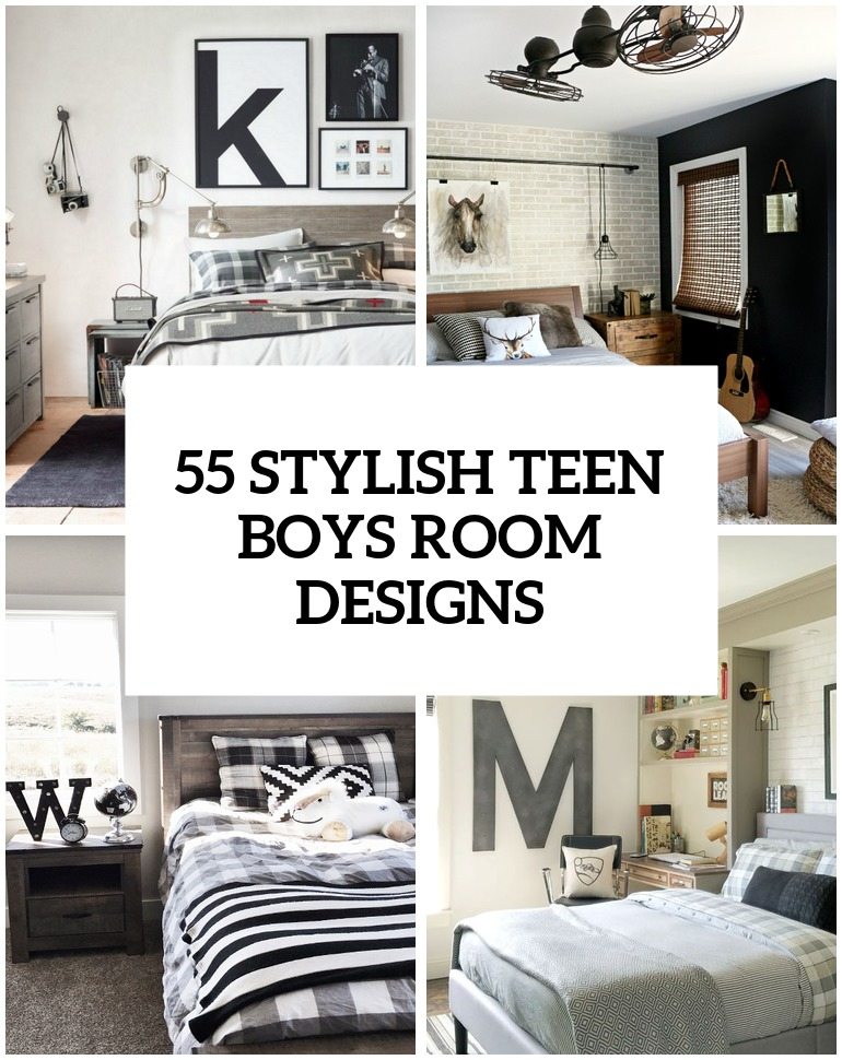 55 Modern And Stylish Teen Boys' Room Designs