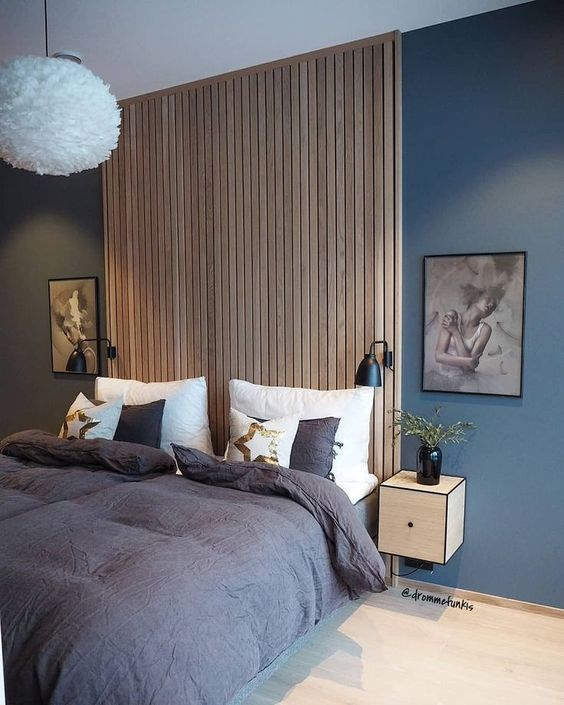 Parquetry Accent Wall: 53 Eye-Catching Textured Accent Walls For Every Space