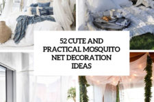 52 cute and practical mosquito net decoration ideas cover