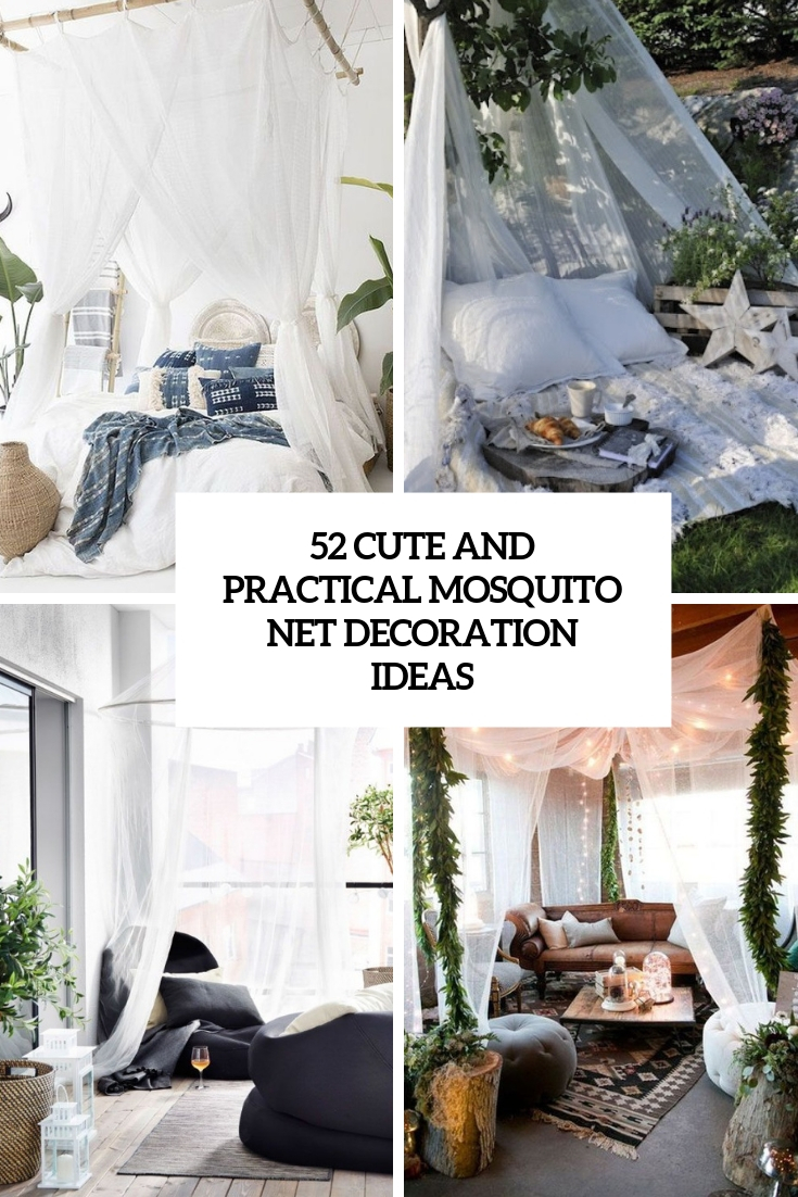 cute and practical mosquito net decoration ideas cover