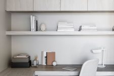 a practical corner desk for a minimalist home office