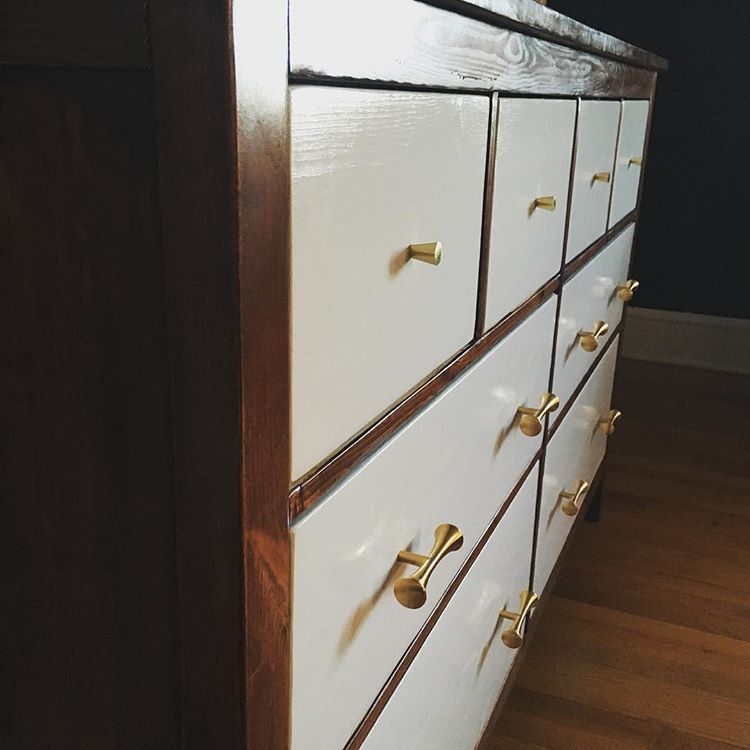 DIY furniture usually isn't that easy to go through but hacking IKEA's dresser might be. (via @overzealousdiyer)