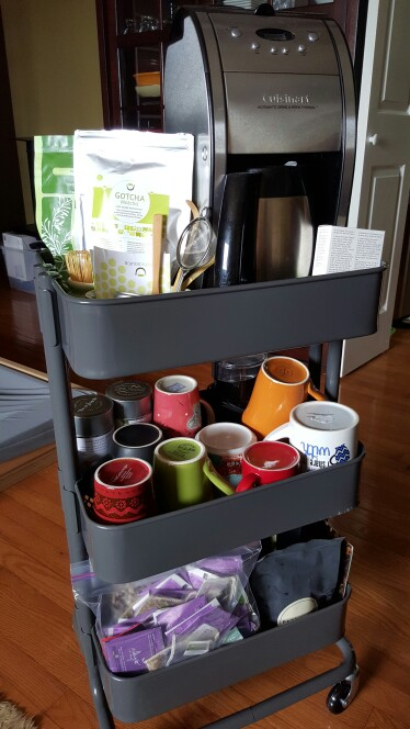 60 smart ways to use ikea raskog cart for home storage digsdigs - Mobile computer ikea ...