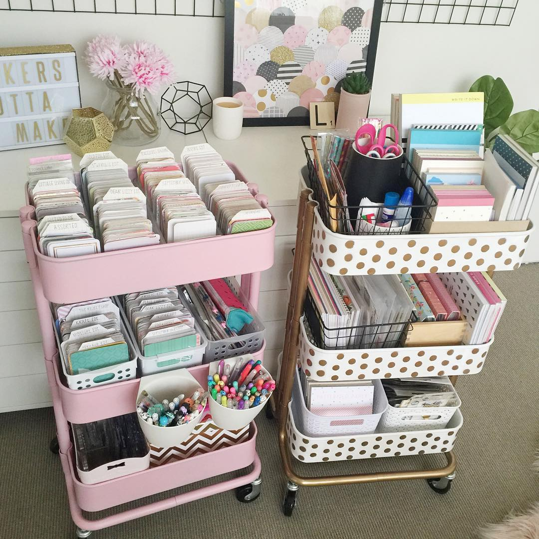 smart ways to use ikea raskog cart for home storage
