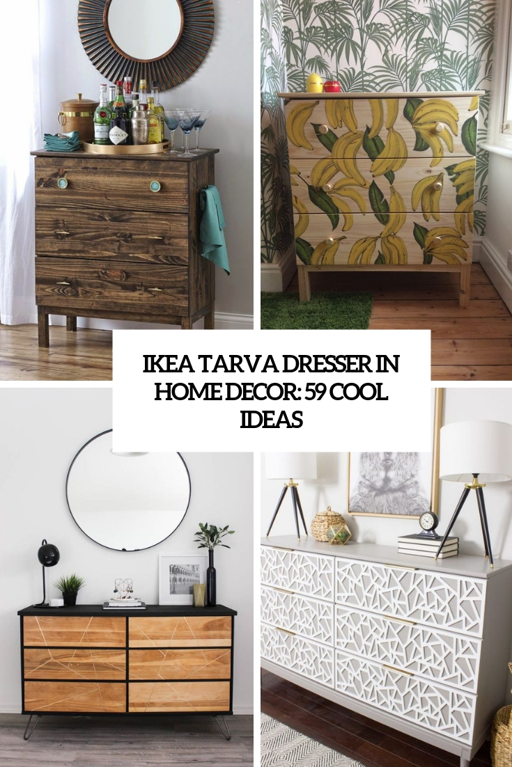 IKEA Tarva Dresser In Home Décor: 59 Cool Ideas