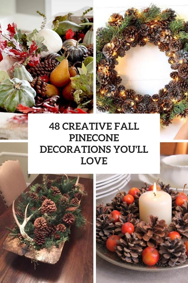 creative fall pinecone decorations you'll love cover