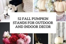 52 fall pumpkin stands for outdoor and indoor decor cover