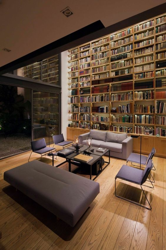 54 Modern Home Library Designs That Stand Out Digsdigs