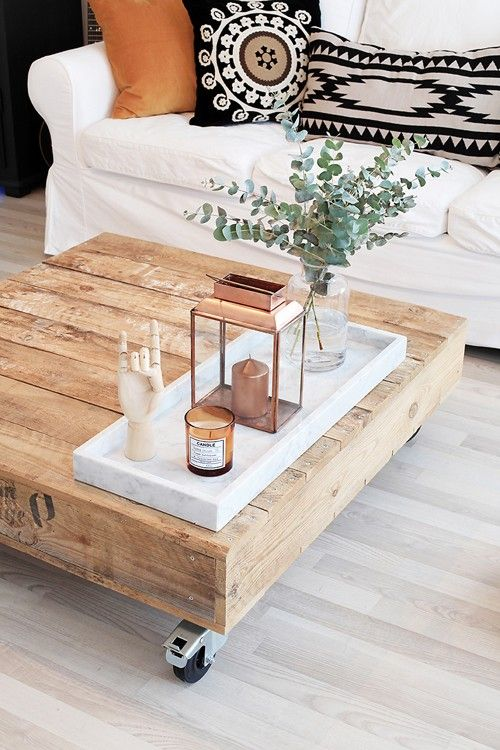 56 Stylish And Practical Coffee Table Decor Ideas