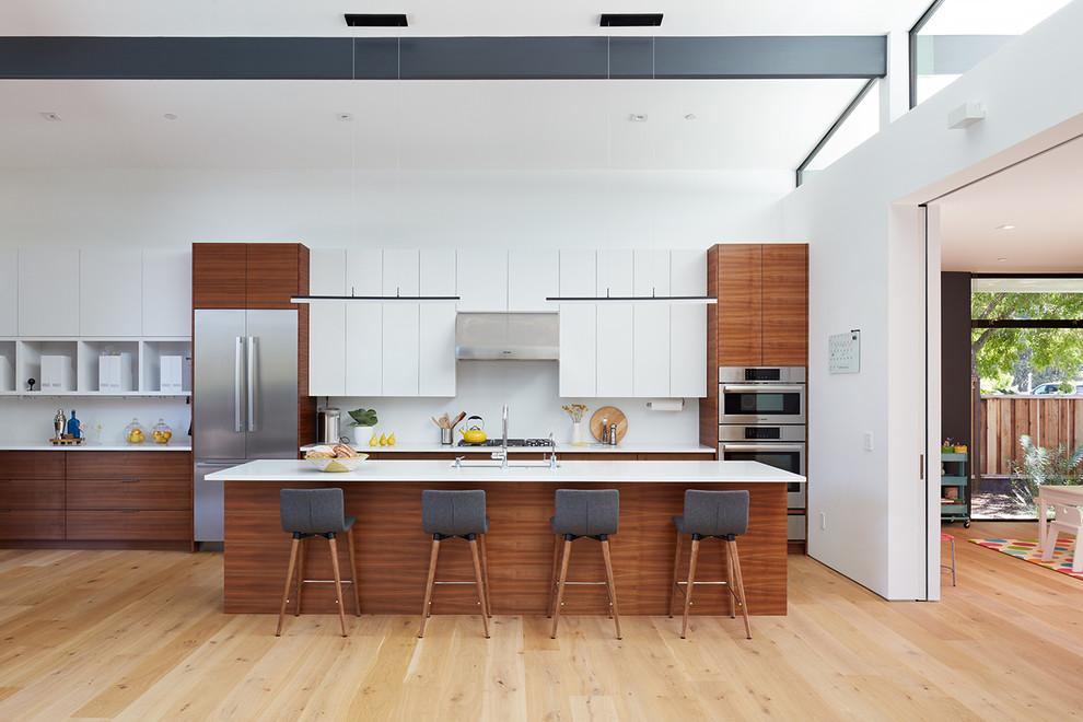 73 Stylish And Atmospheric Mid-Century Modern Kitchen Designs