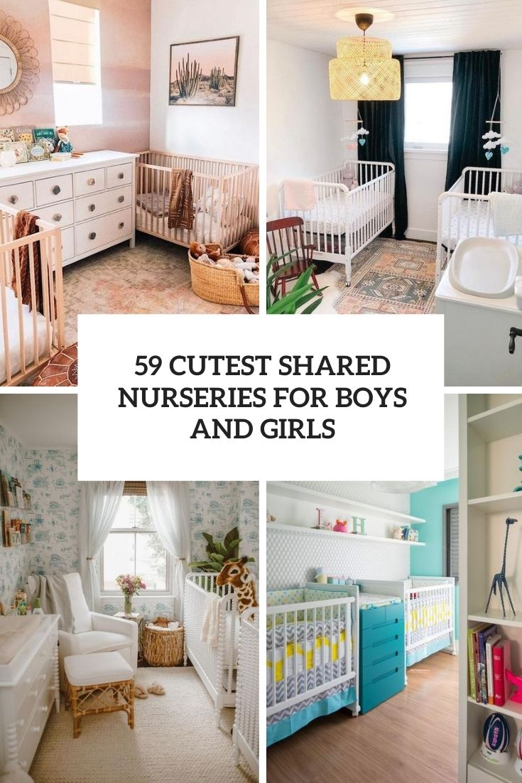 59 Cutest Shared Nurseries For Boys And Girls