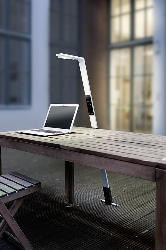 Biologically Effective Lamp For Mobile Working