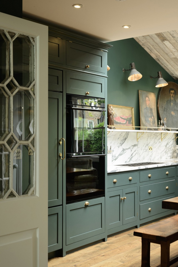 Victorian Green Marble And Brass Kitchen Design Digsdigs
