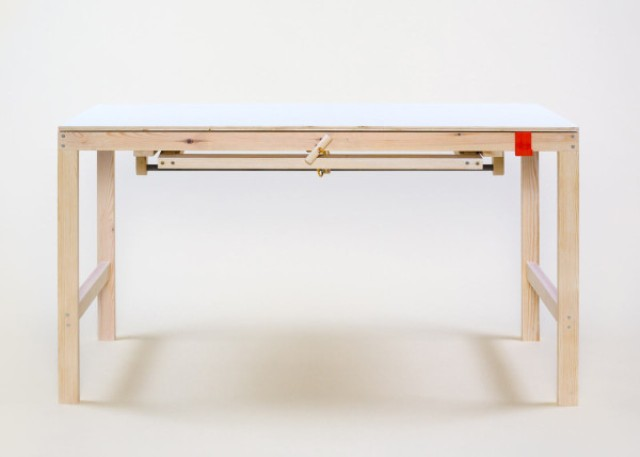 The piece is a simple and functional working desk suitable for modern spaces