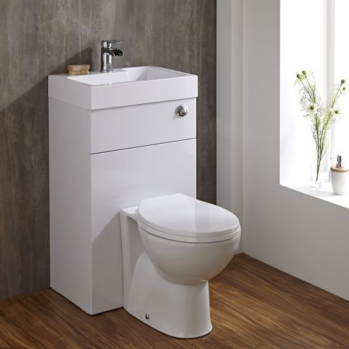 Epic modern toilet and basin unit for small bathrooms