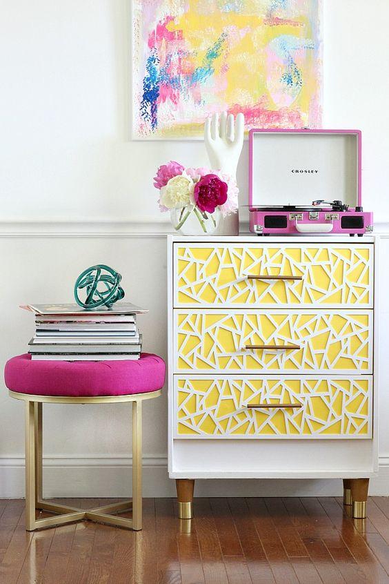 bold yellow geometric Rast hack