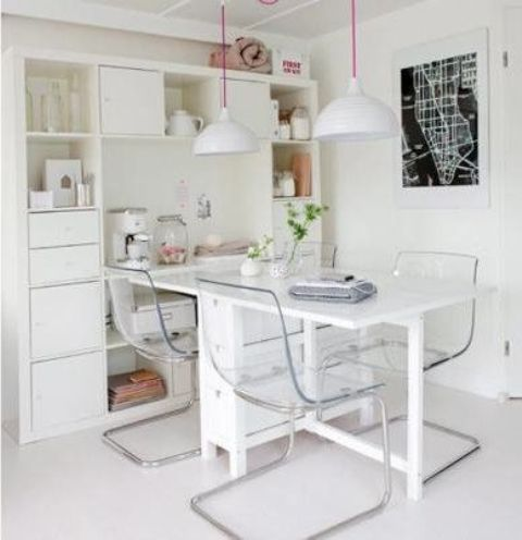 Norden Gateleg Table Is Perfect For Storage Ikea S Looks Great With These Transpa Chairs