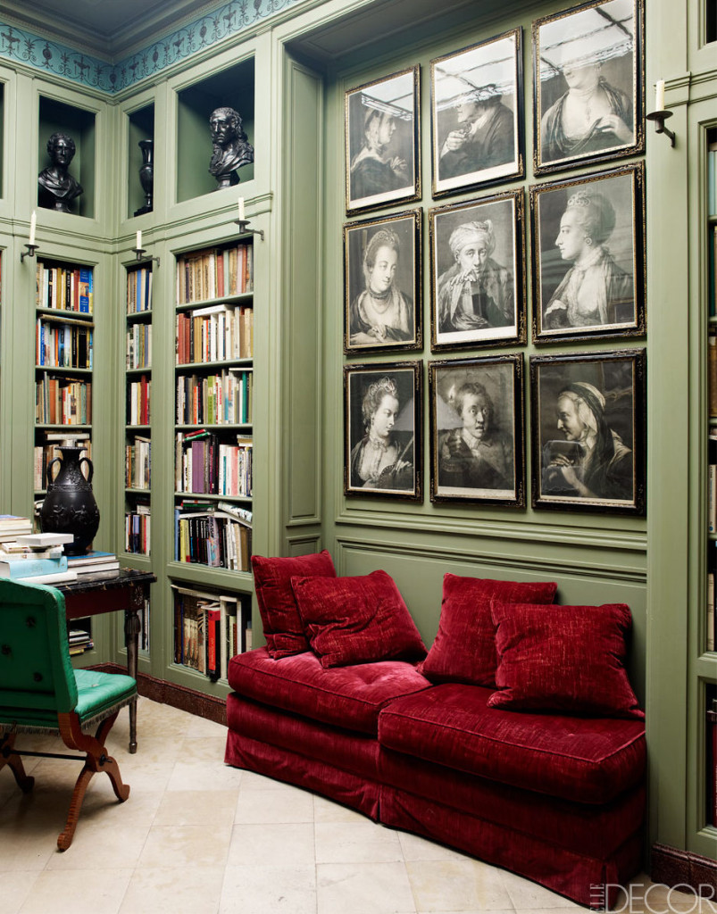 Primary Green Is Kept Mute And A Bold Green Chair And Bright Red Sofa Make  Accents Part 35