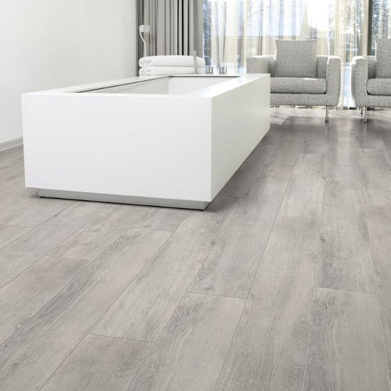 Graue Küche Mit Holzboden: 32 Grey Floor Design Ideas That Fit Any Room