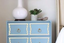 08 dusty blue dresserhack with trim