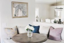 12 timeless whitewashed compact corner breakfast nook