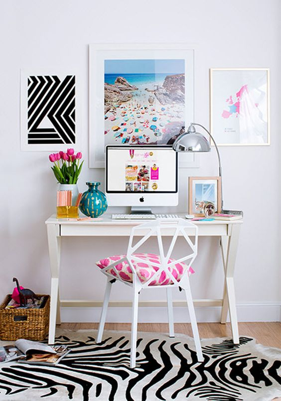 Study nook ideas for girls
