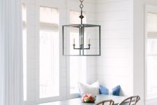 13 coastal and rustic nook by the window