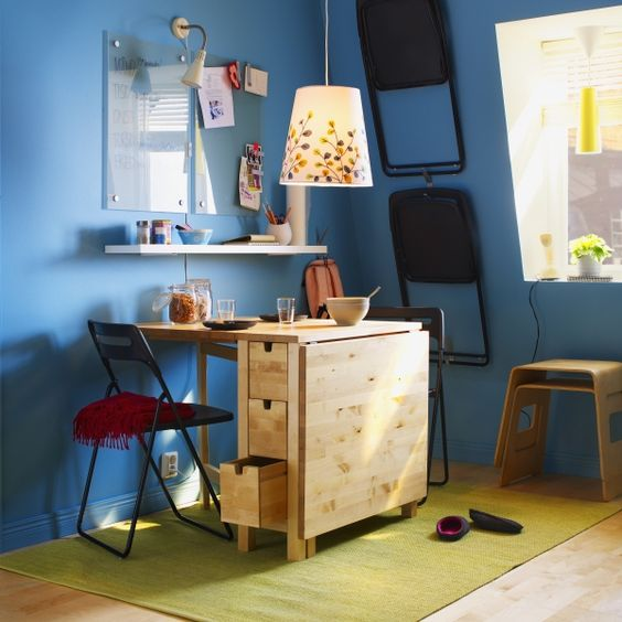 Ikea Norden Table Hack: 25 Ways To Use IKEA Norden Gateleg Table In Décor