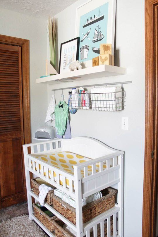 28 changing table and station ideas that are functional and cute rh digsdigs com changing table with drawers and shelves changing table with storage