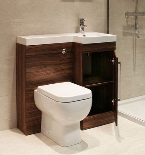 . 32 Stylish Toilet Sink Combos For Small Bathrooms   DigsDigs